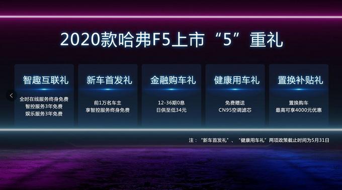 2020款哈弗F5凭啥让罗永浩力荐?看完我就知道了
