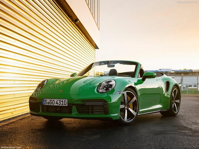 保时捷全新911 Turbo实拍搭3.8T引擎/3秒内破百-图3