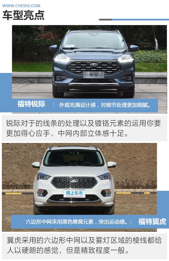 同样是福特四驱SUV锐际翼虎哪款值得买-图3