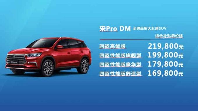 品智大五座SUV 比亚迪宋Pro广东赞放上市-图24