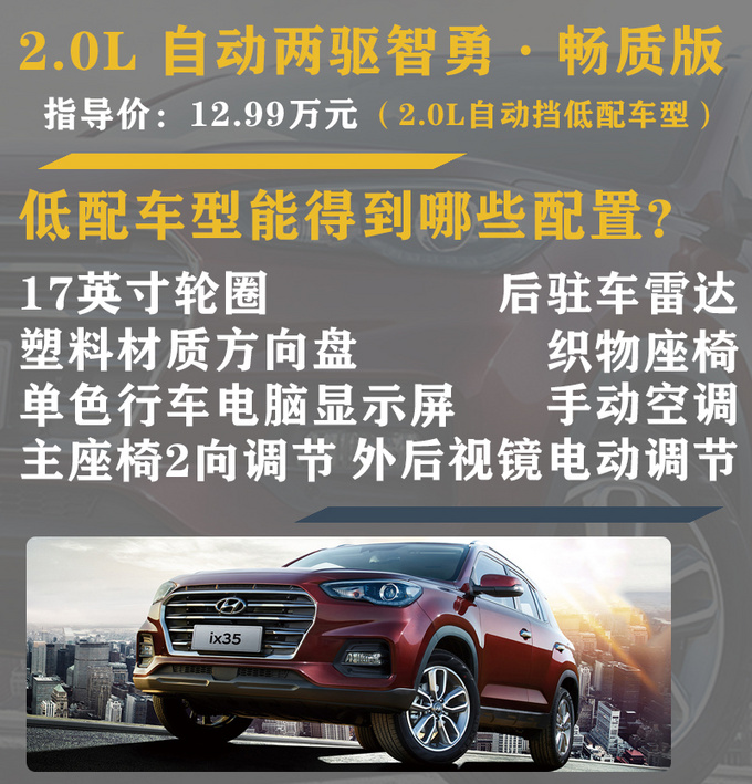 月销量过万的合资SUV售价/配置竟与国产车相当-图3