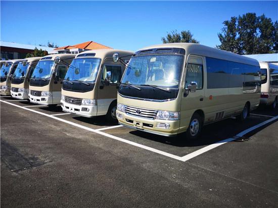 丰田考斯特换新装 品牌大巴座位全配置丰-图11