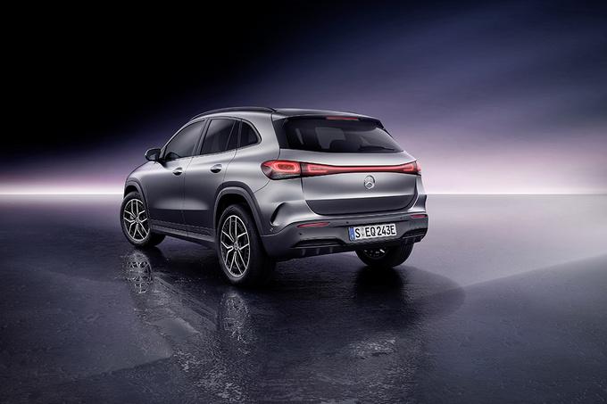 奔驰EQA首发 国产车型将搭双电机/续航超500公里-图4