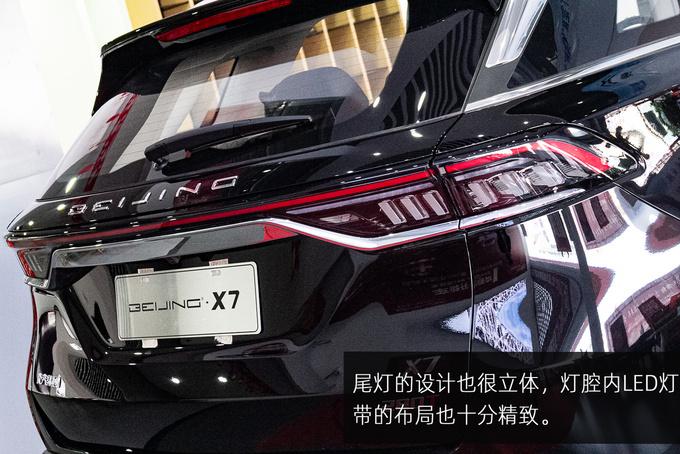 配置、服务双升级,BEIJING-X7贺岁限量版东莞实拍-图12