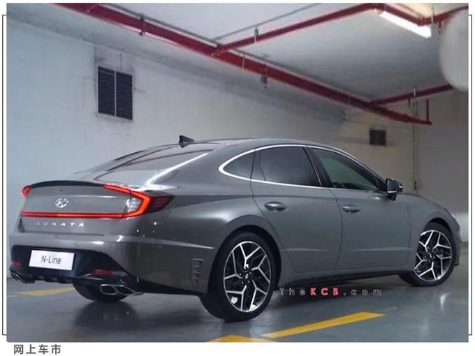 现代索纳塔新车型本月开售搭2.5T/动力本田雅阁-图2