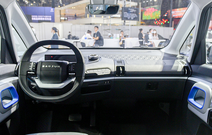 2020广州车展前瞻新宝骏E300苏宁小Biu多图实拍-图8