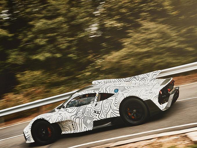 战迈凯伦p1 梅赛德斯-amg混动超跑-极速350km/h