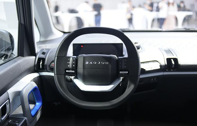 2020广州车展前瞻新宝骏E300苏宁小Biu多图实拍-图11