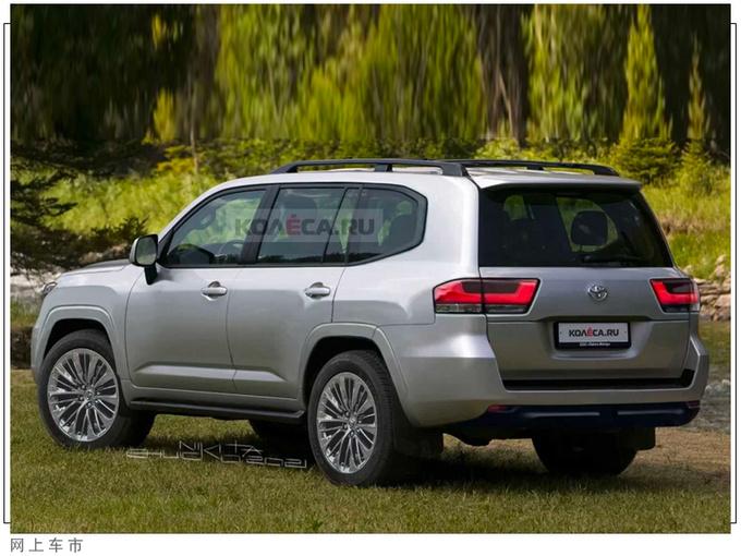 丰田全新兰德酷路外观曝光三个月后即将开售-图2