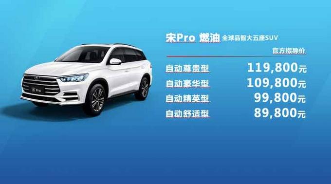 品智大五座SUV 比亚迪宋Pro广东赞放上市-图25