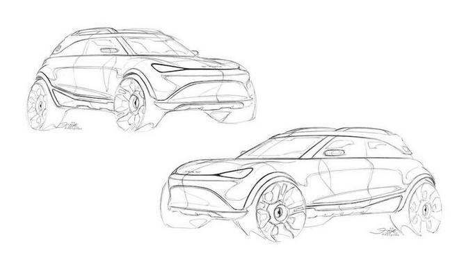 概念图曝光Smart推出电动SUV 即将亮相慕尼黑-图4