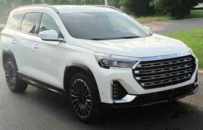 捷途X90 PRO新SUV四月上市 外观新颖-全系1.6T-图1