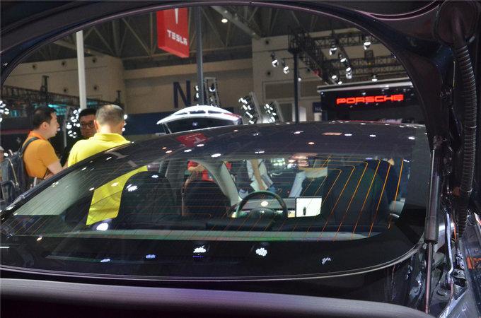 像苹果造的车 特斯拉Model3亮相重庆车展-图18
