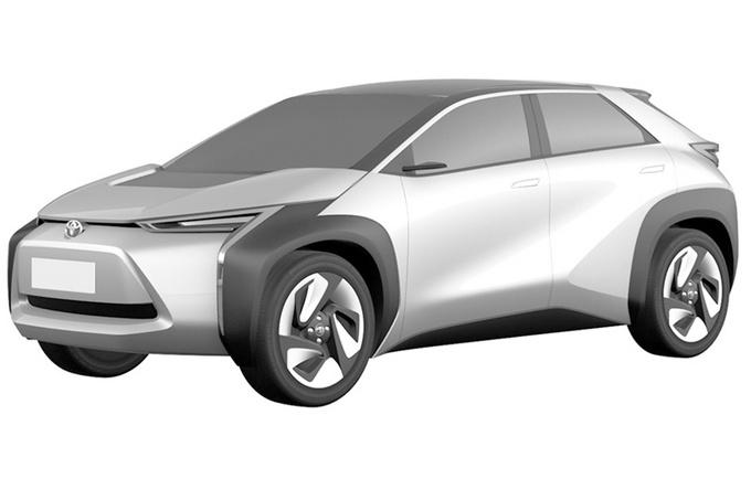 丰田两款全新电动车曝光 这款SUV比汉兰达还大-图2