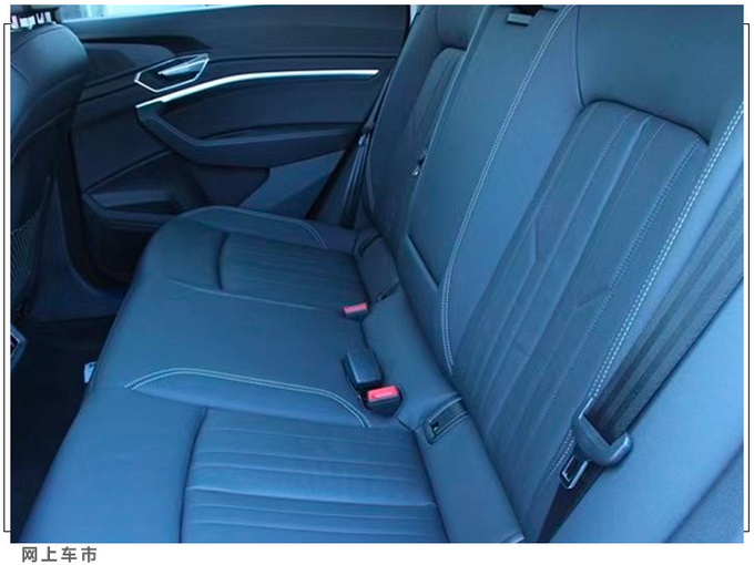 奥迪e-tron轿跑版实拍配A8方向盘/还配运动套件-图9