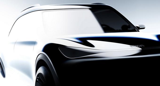 概念图曝光Smart推出电动SUV 即将亮相慕尼黑-图2