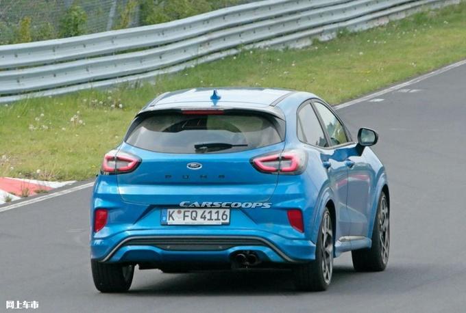 福特彪马ST预告图曝光 搭1.5T三缸发动机/下月首发-图5