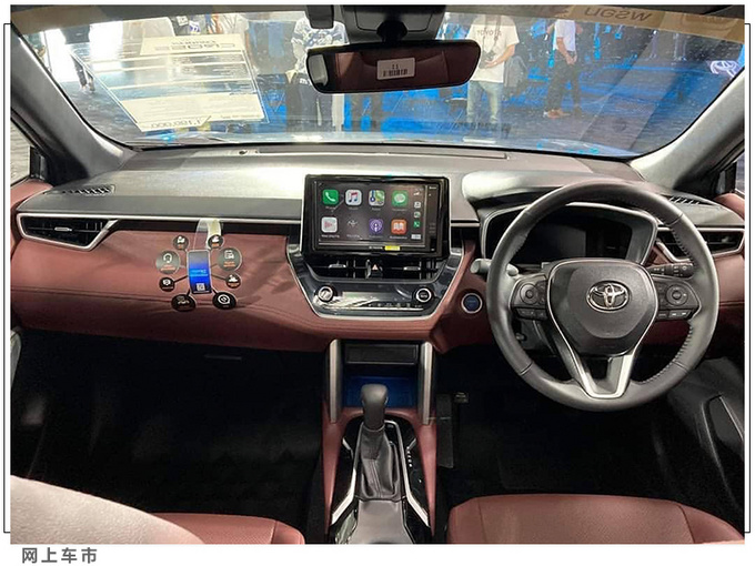 丰田SUV版卡罗拉实拍内饰酷似RAV4车型-图8