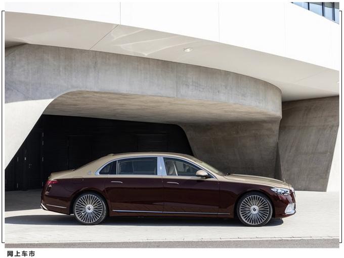 全新迈巴赫S级发布 搭V12引擎 科技配置十分丰富-图3