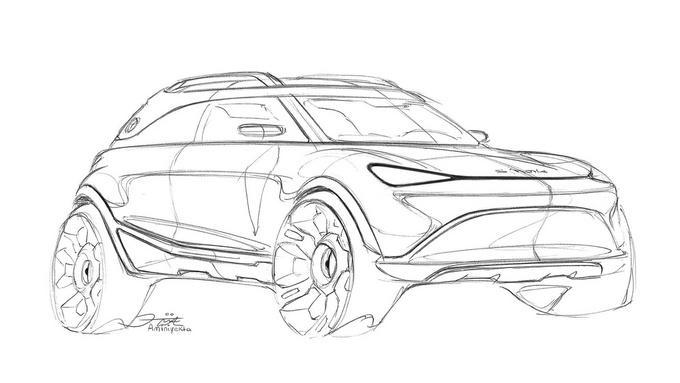 概念图曝光Smart推出电动SUV 即将亮相慕尼黑-图6