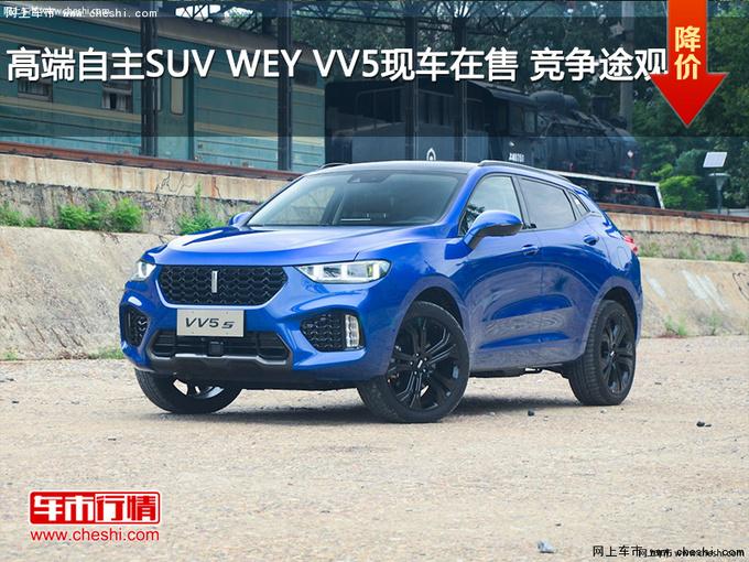 高端自主SUV WEY VV5现车在售 竞争途观-图1