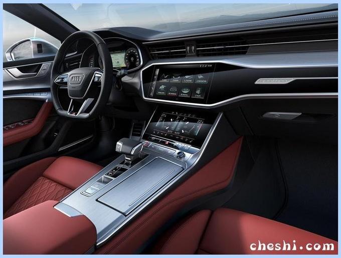 奥迪A7性能版多图实车曝光售63万/增新引擎-图5
