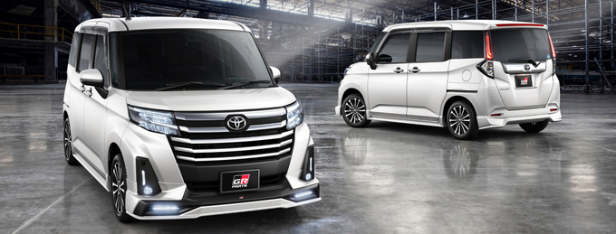 丰田Roomy GR车型发布配专属运动套件/10万起售-图1