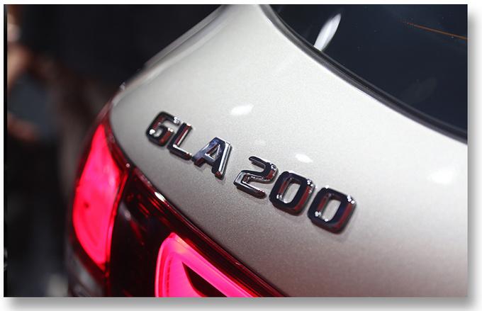 2020粤港澳车展实拍更大空间的奔驰国产全新GLA-图27