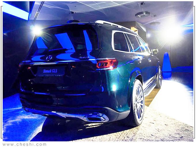 奔驰全新一代GLS实拍 搭3.0T混动/提供6座可选-图5