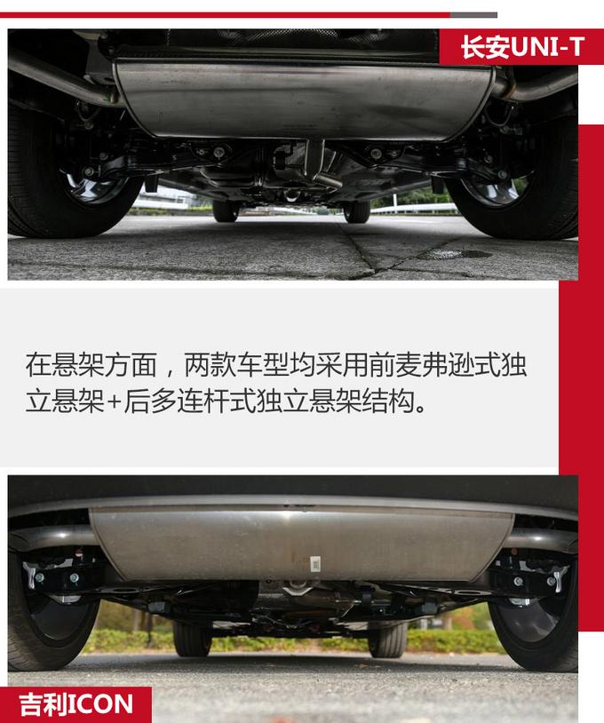 次世代SUV对决 长安UNI-T和吉利ICON怎么选-图16