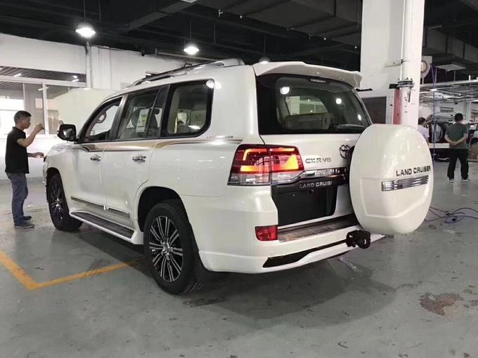18款丰田酷路泽4000 超豪华改装性价比高-图3