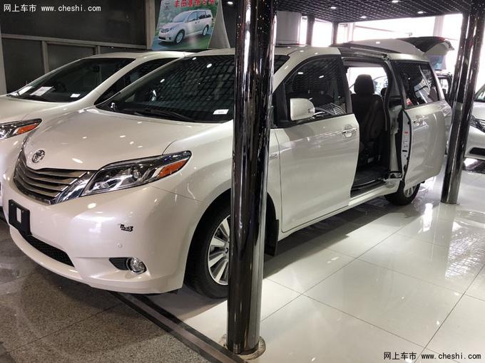 丰田塞纳LTD四驱 七座顶配商务促销价格-图1