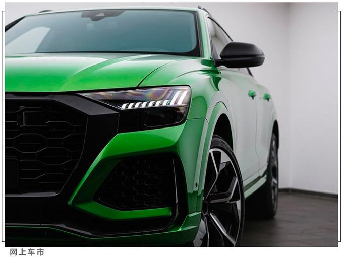 奥迪全新RS Q8改装版升级独有涂装/配23寸轮毂-图4