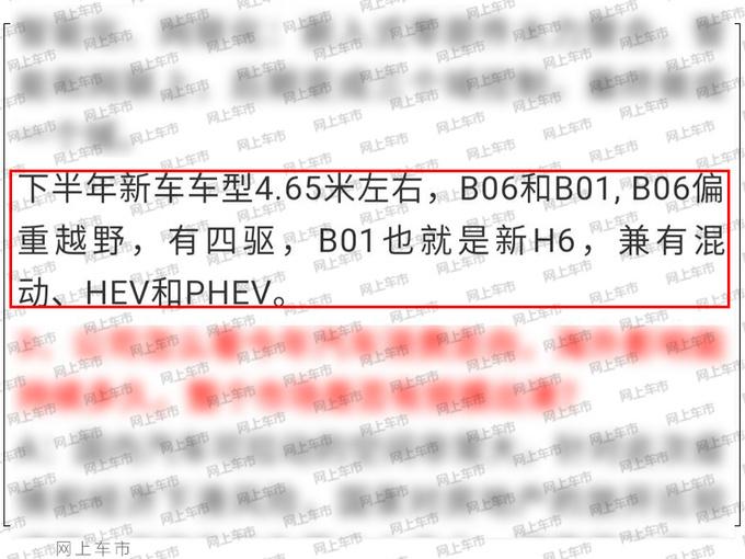 全新一代哈弗H6谍照曝光 增四驱越野版更加硬派-图2