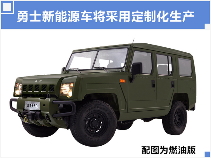 北汽勇士推2款纯电越野SUV 年产15万辆明年下线-图3