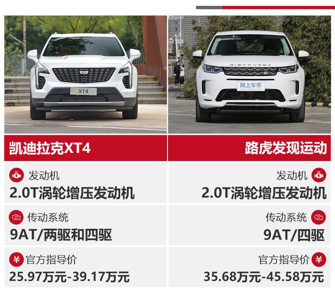 35万买豪华运动SUV XT4 PK 发现运动谁更值-图1