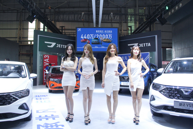 售7.68万元,捷达VA3向上人生版东莞国际车展上市-图9