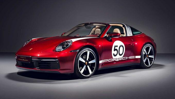 保时捷特别版911 Targa 限量992台/搭配纪念腕表-图1