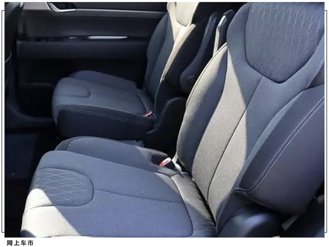 现代七座SUV实拍曝光 搭3.5L/配按键电子换挡-图7