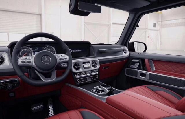 19款奔驰G550传承经典 罕见红色天生强悍-图5