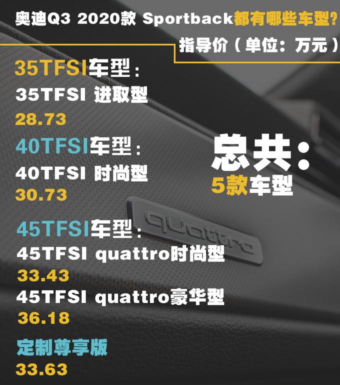 空间/性能/颜值都满足你奥迪Q3轿跑就选这两款-图4
