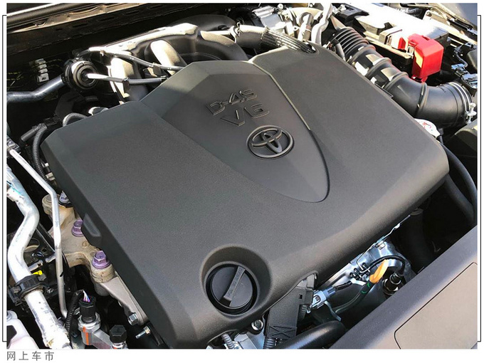 丰田亚洲龙运动版实拍搭3.5L引擎/配熏黑轮毂-图8