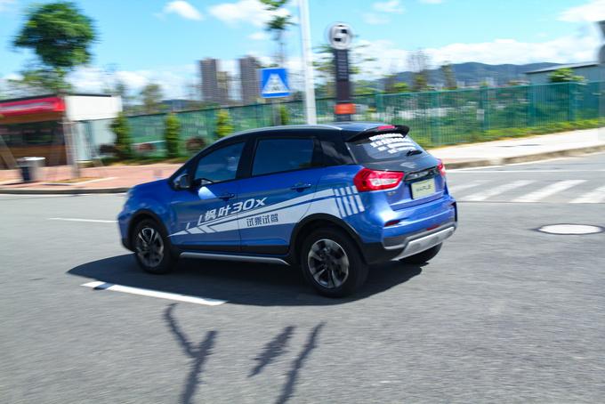 高性价比的城市纯电SUV,东莞试驾枫叶30X-图11