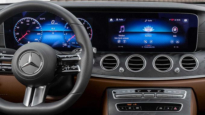 奔驰E Coupe预告图发布 将于5月27日正式亮相-图6