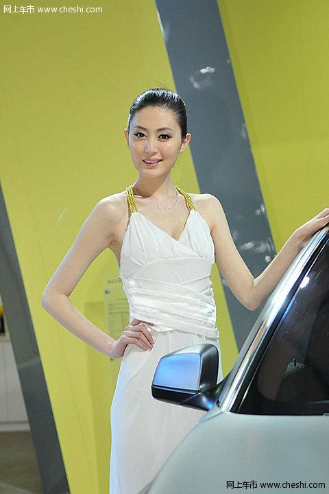 图片库 车展 2011上海车展 2011上海车展车模 ac宝马车模  速度3秒 5