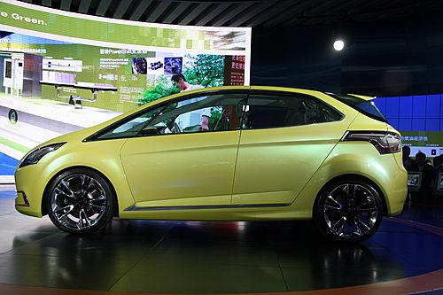 福特iosis max概念车高清图片