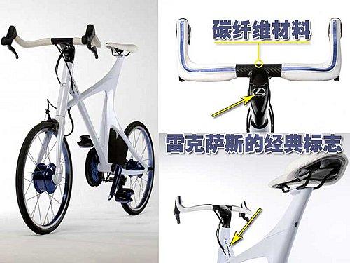自行车应用了电动8速变速器和轻质的碳纤维车身结构