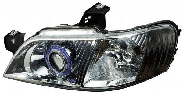 gl8 hid大灯总成,双光透镜哇   车子有点旧了,呵呵   改装步高清图片
