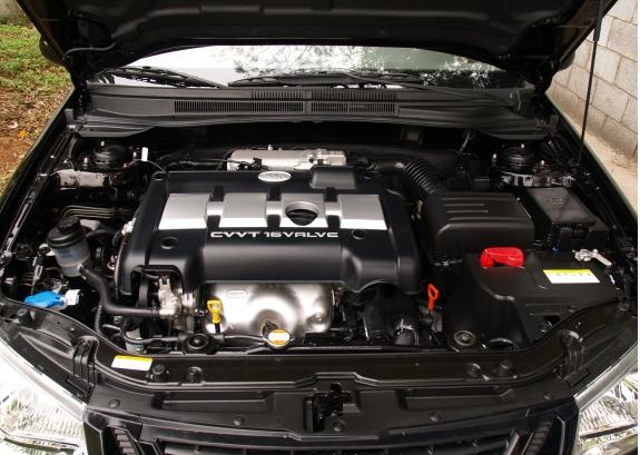 赛拉图1.6发动机和变速箱(图)