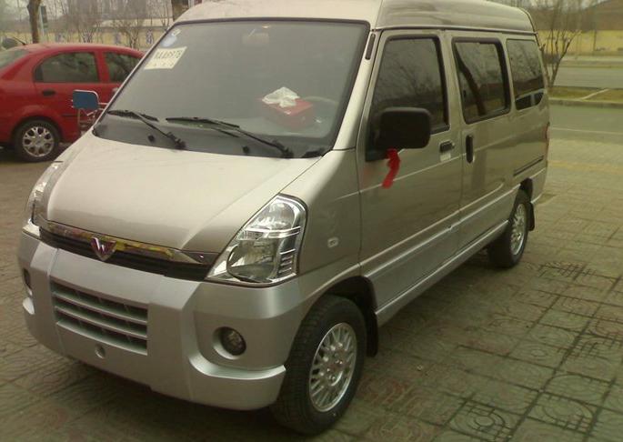 新买的五菱之光 6386a3 提车作业 图 网上车市 高清图片
